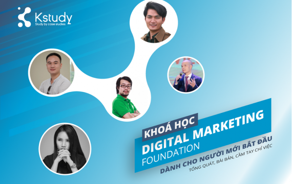 khoá học digital marketing tổng quan kstudy
